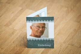 60. Geburtstag, Einladungskarten