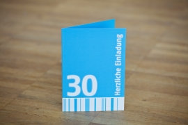 Einladungen 30. Geburtstag