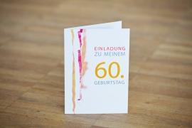 Einladungen zum 60. Geburtstag