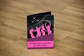 Einladungskarte Geburtstag