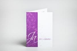 Einladungskarte, Heirat