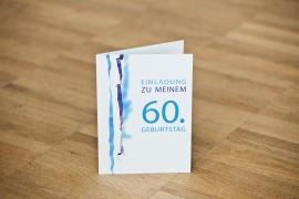 Einladungskarten Geburtstag 60