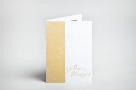 Einladungskarten, Goldene Hochzeit