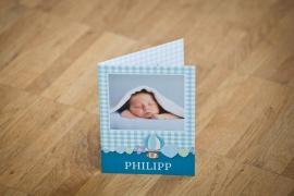 Fotokarten Geburt