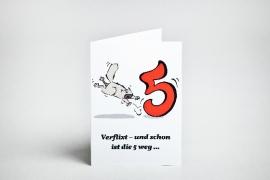 Geburtstag 60 Einladungskarte
