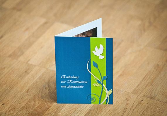 Vorlage Für Einladungskarten Zur Kommunion